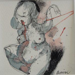 qente-atelje-eva-wiren-kvinna-iii-akvarell-25x25-2016